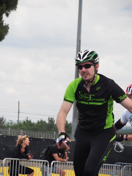 Julien dans Montée du Dunlop 24h du Mans Roller 2016 par Patrice Briet