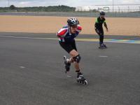 Evelyne aux 24h Mans 2016 par Patrice Briet