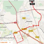 Parcours CLV-Carre Senart et retour