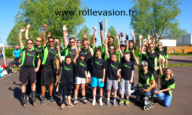 Carte Virtuelle 6h roller de Troyes 2014 avec URL