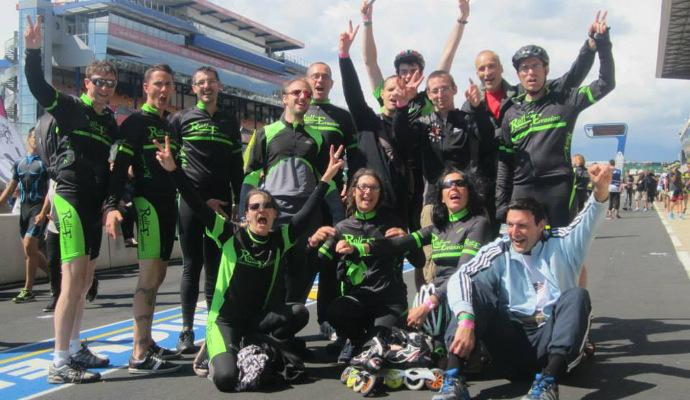 RollEvasion aux 24h roller du Mans 2014