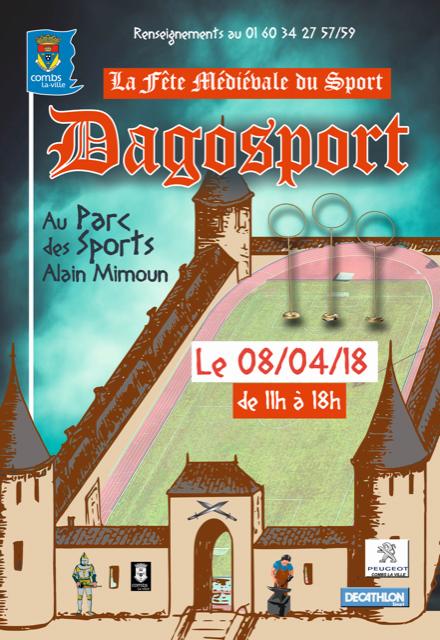 Fete medievale du sport combs 2018