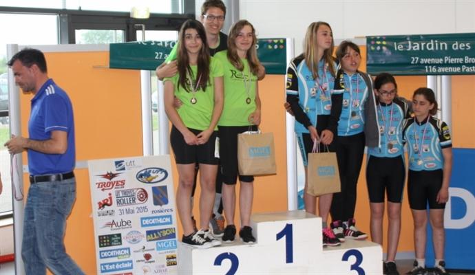 2ème place pour l'équipe jeune aux 6h de Troyes 2015